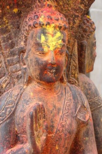 Buddha sending a blessing
